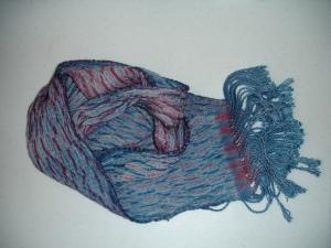 Shibori Scarf #1