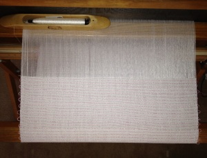 Handwoven Shibori on the Loom
