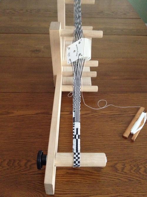 Tablet Weaving on Inkle Loom