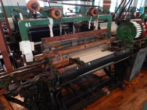 Another Draper Loom weaving dish towels