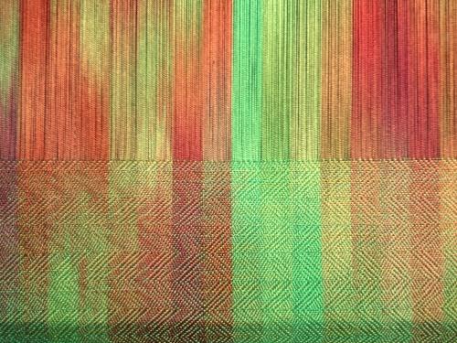 Manifold Twill  weave