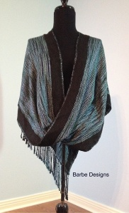 Mobius Shawl Front