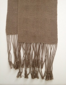 Canvas Weave Scarf bamboo