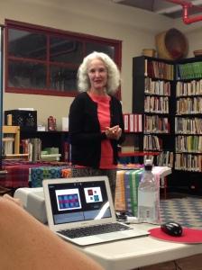 Rosalie Neilson's program for Contemporary Handweavers of Houston Guild meeting, Oct. 2015