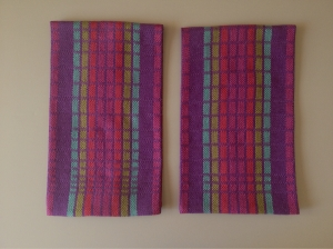 Jewel False Satin Towels