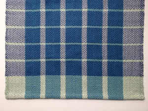Plaid twill towel