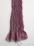 Crimp weave Huck lace