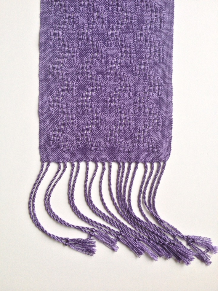 Light Purple Huck lace